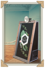 Themed magic mirror